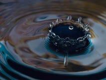 De achtergrond van de waterplons Stock Fotografie