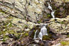 De achtergrond van de waterval Royalty-vrije Stock Foto's