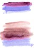 De achtergrond van de waterverf Veelkleurige wasborstel Abstracte textuur Royalty-vrije Stock Afbeeldingen