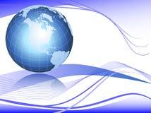 De achtergrond van de wereld Stock Afbeeldingen
