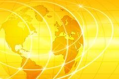 De Achtergrond van de wereld Stock Foto
