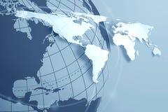 De achtergrond van de wereld Stock Afbeelding