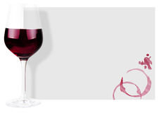 De achtergrond van de wijn Stock Fotografie