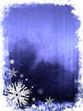 De Achtergrond van de winter royalty-vrije illustratie