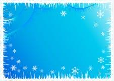 De achtergrond van de winter. Royalty-vrije Stock Foto's