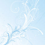 De achtergrond van de winter vector illustratie