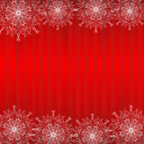 De achtergrond van de winter. Stock Afbeelding