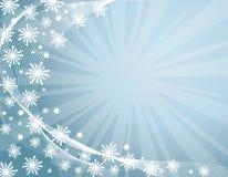 De achtergrond van de winter stock illustratie