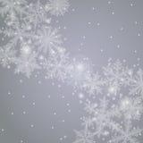 De achtergrond van de winter Royalty-vrije Stock Fotografie