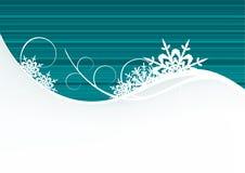 De achtergrond van de winter Royalty-vrije Stock Afbeeldingen