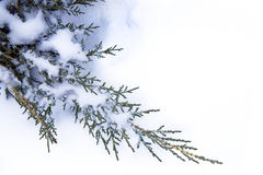 De achtergrond van de Winter van de kunst Stock Afbeelding