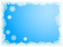 De achtergrond van de winter. [Vector] Royalty-vrije Stock Afbeeldingen