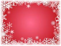 De achtergrond van de winter. [Vector] Royalty-vrije Stock Foto's