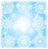 De achtergrond van de winter. [Vector] Royalty-vrije Stock Fotografie