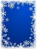De achtergrond van de winter. [Vector] Stock Fotografie