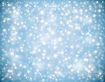 De achtergrond van de winterkerstmis Stock Foto's