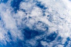 De achtergrond van de wolk Stock Fotografie