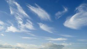 De achtergrond van de wolk royalty-vrije stock afbeeldingen