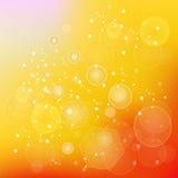 De achtergrond van de zon Royalty-vrije Stock Foto