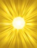 De Achtergrond van de zon Royalty-vrije Stock Afbeeldingen