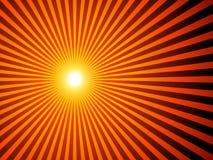 De achtergrond van de zonnestraal Royalty-vrije Stock Afbeeldingen
