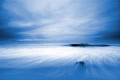 De achtergrond van de zonsondergang Royalty-vrije Stock Foto