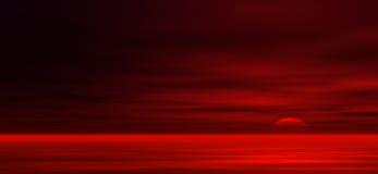 De achtergrond van de zonsondergang vector illustratie