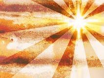 De Achtergrond van de Zonsondergang van Grunge royalty-vrije illustratie