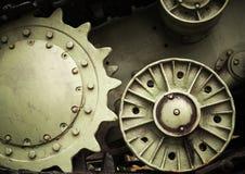 De achtergrond van de zware industrietechniek Royalty-vrije Stock Foto's