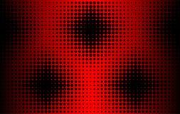 De achtergrond van de zwarte cirkels Stock Foto's