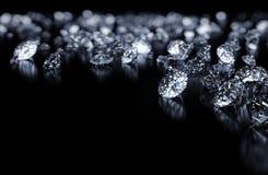 De achtergrond van diamanten Royalty-vrije Stock Foto