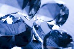 De achtergrond van diamanten Stock Foto