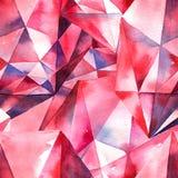 De achtergrond van de diamantentextuur Stock Foto's