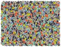 De achtergrond van diskettes Stock Afbeelding
