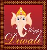 De achtergrond van Diwali Royalty-vrije Stock Afbeelding