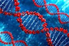 De Achtergrond van DNA (Type 05) Stock Afbeelding