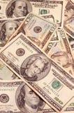 De Achtergrond van dollars Stock Afbeeldingen