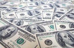 De Achtergrond van dollars Stock Foto
