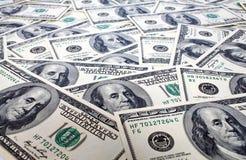 De achtergrond van dollars Royalty-vrije Stock Afbeelding