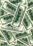 De achtergrond van dollars Royalty-vrije Stock Fotografie