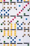 De Achtergrond van domino's Stock Foto