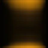 De achtergrond van Doted in oranje, zwarte kleur Stock Foto