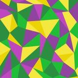 De achtergrond van de driehoekskleur Stock Foto