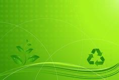 De achtergrond van Eco Royalty-vrije Stock Afbeelding