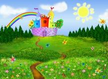 De achtergrond van Fairytale Royalty-vrije Illustratie