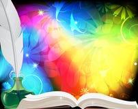 De achtergrond van Fairytale. Royalty-vrije Stock Foto