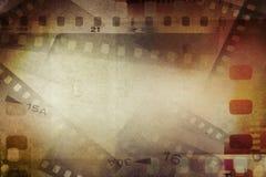De achtergrond van filmstroken Stock Foto
