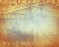 De achtergrond van filmstroken Stock Afbeelding