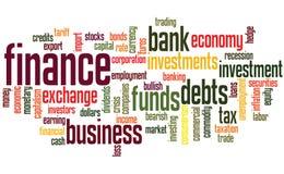 De achtergrond van financiën Royalty-vrije Stock Fotografie