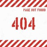 de achtergrond van de 404 foutenpagina grunge Vector illustratie Royalty-vrije Stock Afbeeldingen